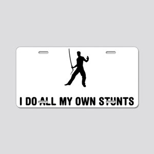 Swordsmanship-03-A Aluminum License Plate
